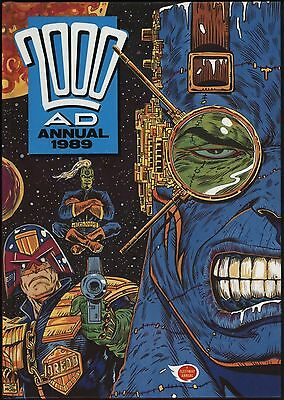 2000AD ANNUAL 1989 GREAT ART McCARTHY HIGGINS SLAINE BY PARKHOUSE NEAR MINT!!