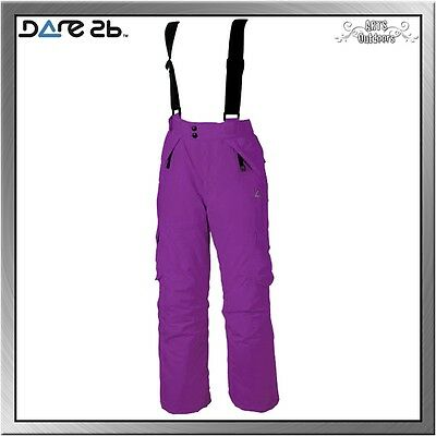 Dare 2b Switch Over Trousers Kinder Skihose grape