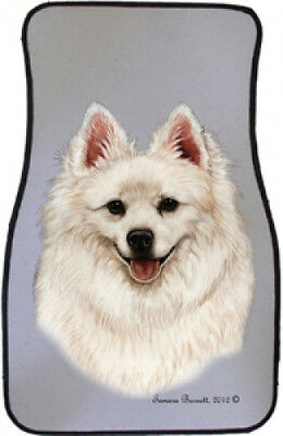 Car Floor Mats Pair - American Eskimo 36126