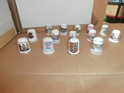 Thimbles  Job Lot Of Places    As Shown In Picture   No Paperwork  Lot 1
