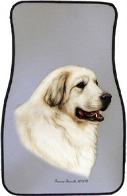 Car Floor Mats Pair - Great Pyrenees 36146