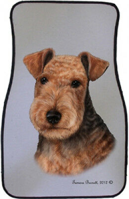 Car Floor Mats Pair - Lakeland Terrier 36234