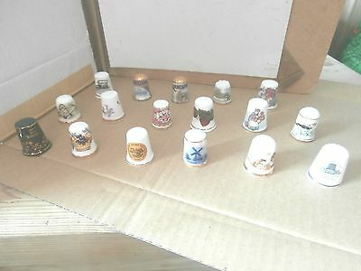 Thimbles  Job Lot Of Mixed    As Shown In Picture   No Paperwork  Lot   6
