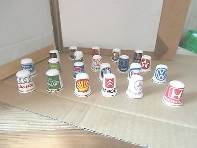 Thimbles  Job Lot Of Mixed    As Shown In Picture   No Paperwork  Lot   7
