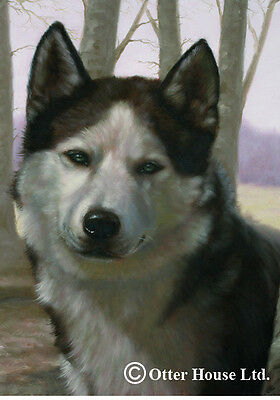 Large Indoor/Outdoor Portrait Flag - Siberian Husky (JS) 50018