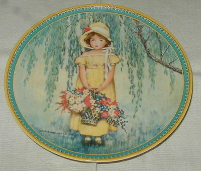 1986 Jessie Willcox Smith Collector Plate, Easter, Edwin Knowles