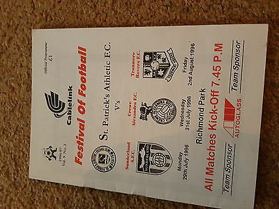 St Patricks V Crewe  Sunderland And Tranmere 96-7 Friendlies All In One