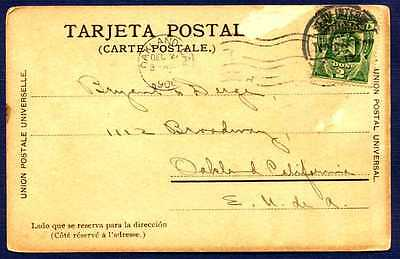 MEXICO-1906-Post Card to Oakland CA:#305 Stamp