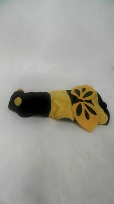 Bee Dog Costume Yellow Black Unisex XS Entire Animal Nature Solid