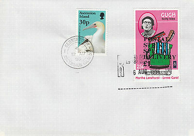 GB Locals (2238) - 1996 POSTAL STRIKE COVER to ASCENSION