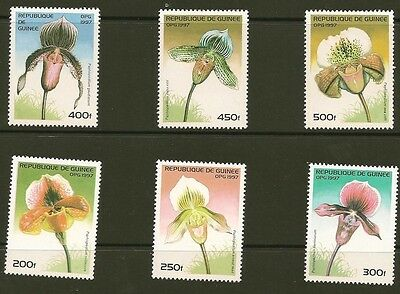 Guinea 1375-80  Orchids  MNH  VF