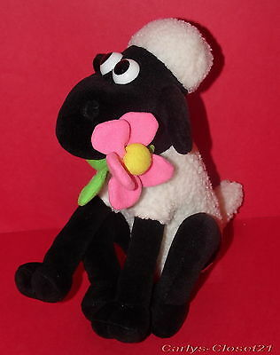 """WALLACE & GROMIT * Shaun The Sheep Soft Toy * 10"""" (25cm) Tall *"""