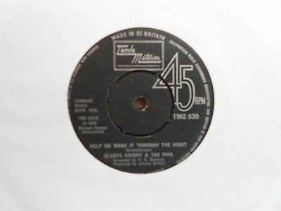Gladys Knight & The Pips=Help Me Make It Through The Night  Vg++