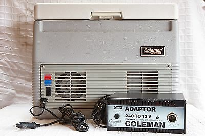 Coleman S232 36L Hot/coolbox With 240V To 12V Power Supply.excellent.very Clean.