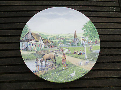 Royal Doulton The Village Green Mick Bensley Limited Edition Crinkley Bottom