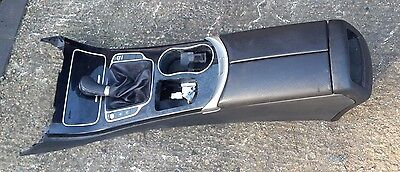 Mercedes C Class W205 Genuine Centre Console Leather Armrest In Black