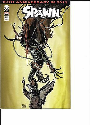 Spawn #219 20th Anniversary In 2012 Image Comics