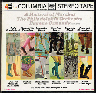 A Festival of Marches, The Philadelphia Orchestra, Eugene Ormandy,  4 Track Tape