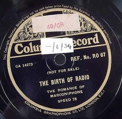 The Birth of Radio. The Romance of Marconiphone.