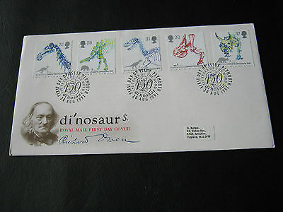FDC - 1991 - Dinosaurs - with Plymouth Cancel (2595)