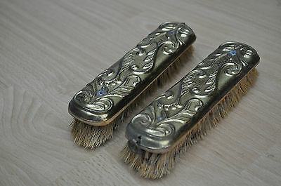 Pair Of Brass Clothes Brushes