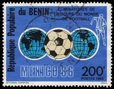 BENIN 600 (Mi404) - MEXICO '86 World Cup Football Championships (pa72653)