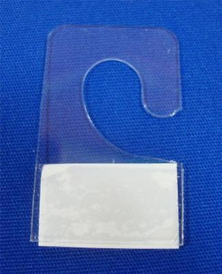 """200 Hook Style Hang Tab with Adhesive Hook Style (3/8"""") Merchandise Price Tags"""
