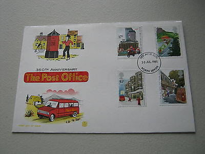 Stuart FDC - 1985 - Royal Mail   - with North Devon cancel (1565)