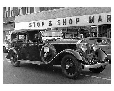 1927 Rolls Royce Phantom I Hooper ORIGINAL Photo ouc2636