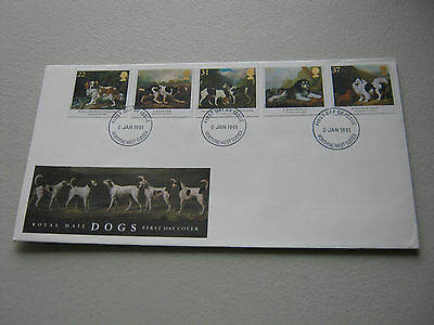 FDC - 1991 - Crufts Dog Show - with Worthing cancel  (1565)