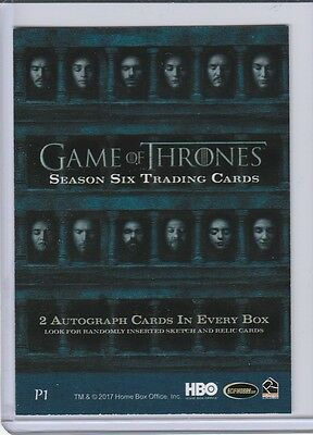 Game Of Thrones Season Six Sealed Box And Album With Promo Card