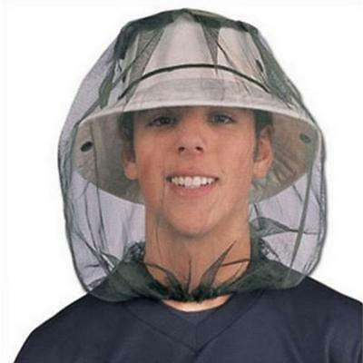 Mosquito Head Net Mesh Face Protector Cap Insect Bee Sun Fish Hat Outdoor Sports