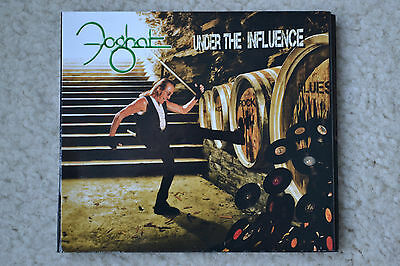 Foghat SIGNED Under The Influence AUTOGRAPHED slow ride savoy brown