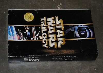 Star Wars Trilogy - Video VCD Box Set - IV V VI - Great Condition ***