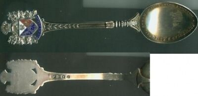 Peninsular And Oriental Steam Navigation Company Sterling Spoon.