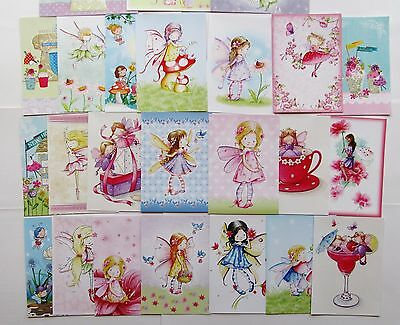 SALE.. Hunkydory Little Book of Fairy Sweethearts Toppers x 24 Sheets