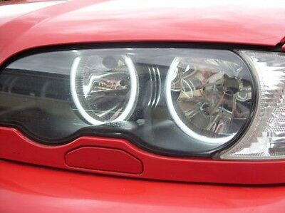 BMW 3 Series E46 Reflector Ccfl Angel Eye Kit 6000K SIN PROYECTOR Tipo