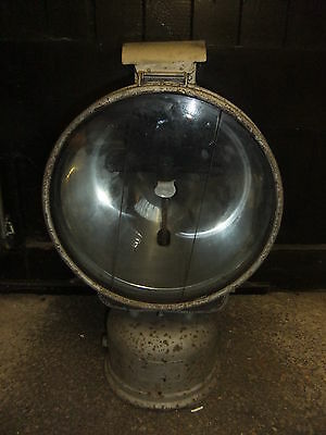 Railways BRITISH RAIL TILLEY floodlight projection tunnel light 1950's solid
