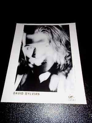DAVID SYLVIAN / JAPAN - ORIGINAL PROMO PHOTO - VERY RARE (Jansen / Barbieri)