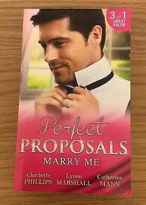 Perfect Proposals Marry Me Mills & Boon 3 in 1 (Paperback 2016)