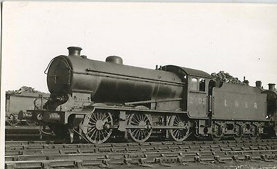 Railway Steam Photograph;  LNER  2705 in Doncaster 1932