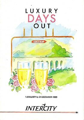 Intercity (British Rail) - Luxury Days Out Tours - 1989