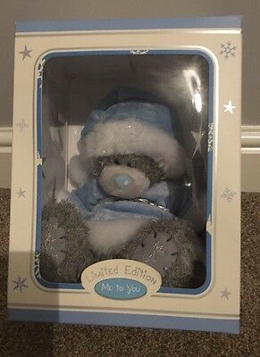 Me To You Seasonal Bear - Winter - Limited Edition in Original Box + Certificate