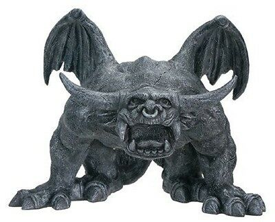 Bull Horned Guardian Gargoyle Statue Medieval Figurine Statuette Decoration New
