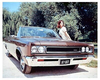 1967 AMC Rambler Rebel SST Convertible ORIGINAL Factory Transparency ouc2738
