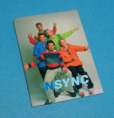"""Nsync Music Group Refrigerator Full Color Magnet By Winterland 2 1/2"""" X 3 1/2"""""""