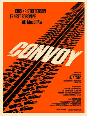 Convoy movie poster A4 Size