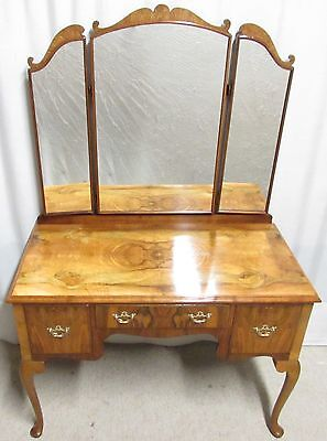 Burr Walnut Dressing Table 'Waring & Gillows'