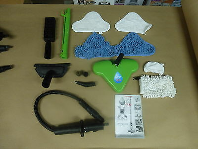 Thane H20 Mop X5 Steam Cleaner 15 Mixed Accessories Pack
