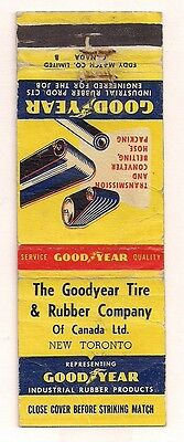The Goodyear Tire & Rubber Company of Canada Ltd. New Toronto ON Matchcover 0217